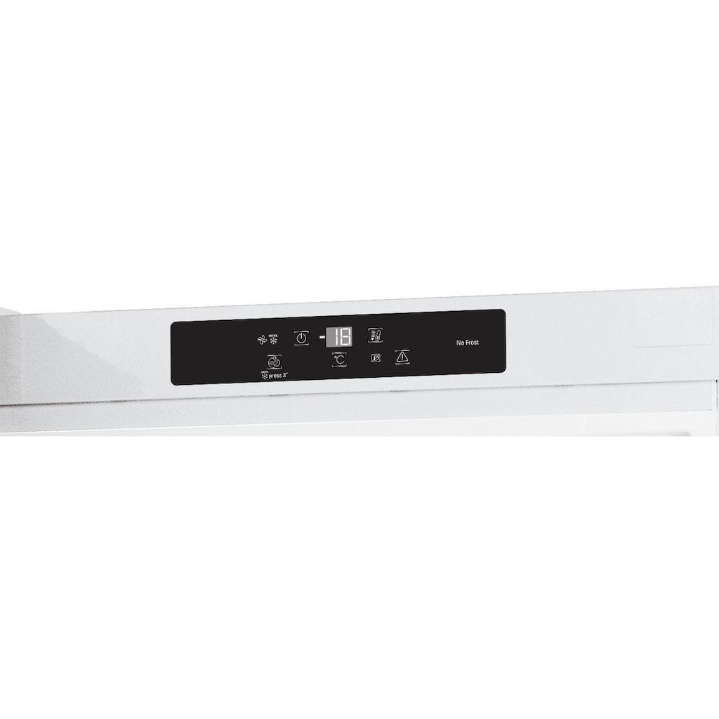 BAUKNECHT Gefrierschrank »GKN 19G3 WS 2«, 187,5 cm hoch, 59,5 cm breit