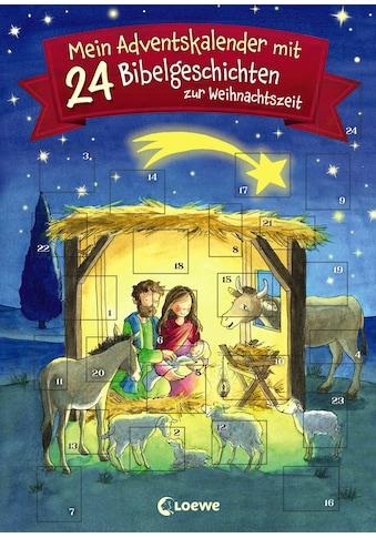 Buch Mein Adventskalender mit 24 Bibelgeschichten zur Weihnachtszeit / Amelie Benn; Carmen Hochmann kaufen