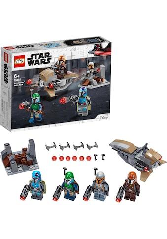 """LEGO® Konstruktionsspielsteine """"Mandalorianer™ Battle Pack (75267), LEGO® Star Wars™"""", Kunststoff, (102 - tlg.) kaufen"""