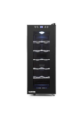 Klarstein Weinkühlschrank 35L Minibar Weinklimaschrank Weinkühler EEK B »Vinamora« kaufen