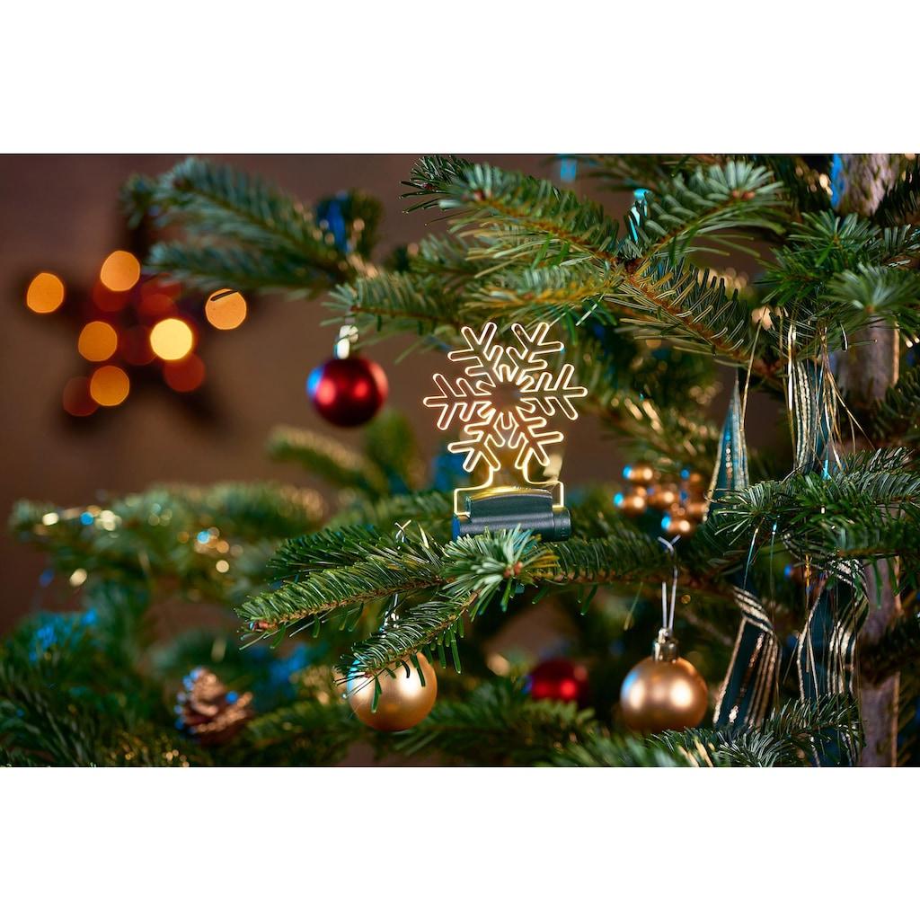 BONETTI LED Dekofigur »Acryl-Weihnachtsmotive«, Warmweiß