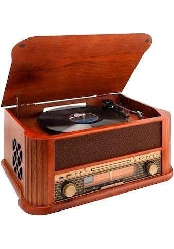 Lenco Plattenspieler »TCD-2500«, USB-Recording-UKW-Radio-MP3-Konvertierung kaufen