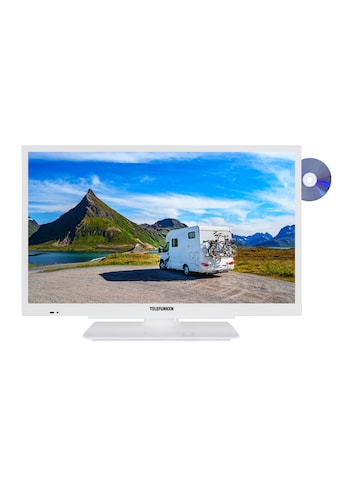 Telefunken LED - Fernseher (24 Zoll, HD - Ready, Triple - Tuner, DVD, 12V) »XH24G101VD - W« kaufen