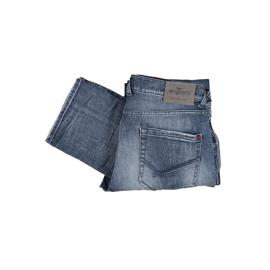 Engbers Jeans mit Destroy-Effekten