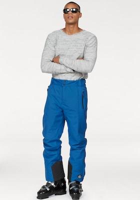Blaue Skihose für Herren