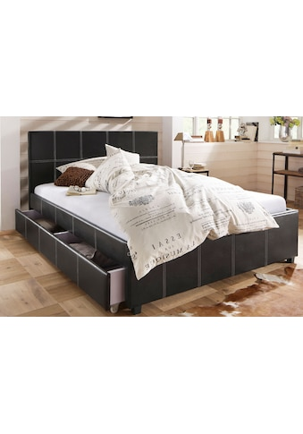 Home affaire Polsterbett »Maja«, in unterschiedlichen Bettgrößen, in zwei schönen... kaufen