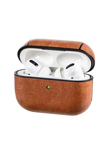 Hama Kopfhörer-Schutzhülle »Schutzhülle, Lederoptik, Etui«, für Apple AirPods Pro Case... kaufen