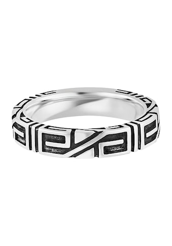 CAÏ Fingerring »925/- Sterling Silber rhodiniert Ornament«, Ring kaufen