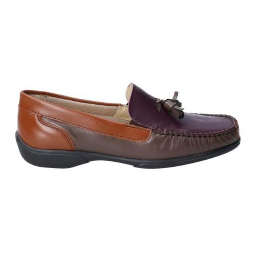 Cotswold Loafer »Damen Biddlestone Leder Slip On Schuh«