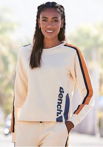 Bench. Sweatshirt, mit Kontrastlogoprint kaufen
