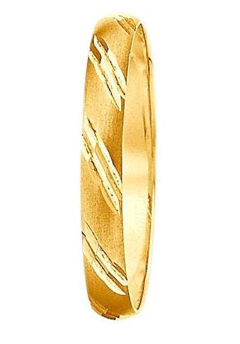 Firetti Trauring mit Gravur »glanz, matt, mit Diamantschnitt« kaufen