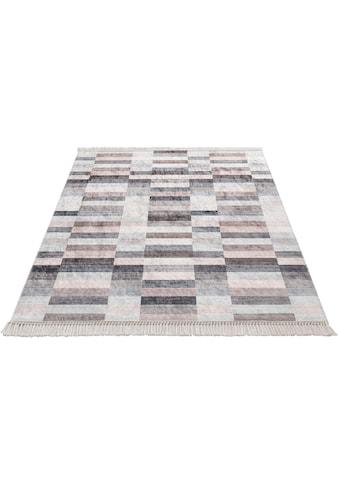 Sehrazat Teppich »Caimas 2951«, rechteckig, 5 mm Höhe, waschbar, weiche Microfaser,... kaufen