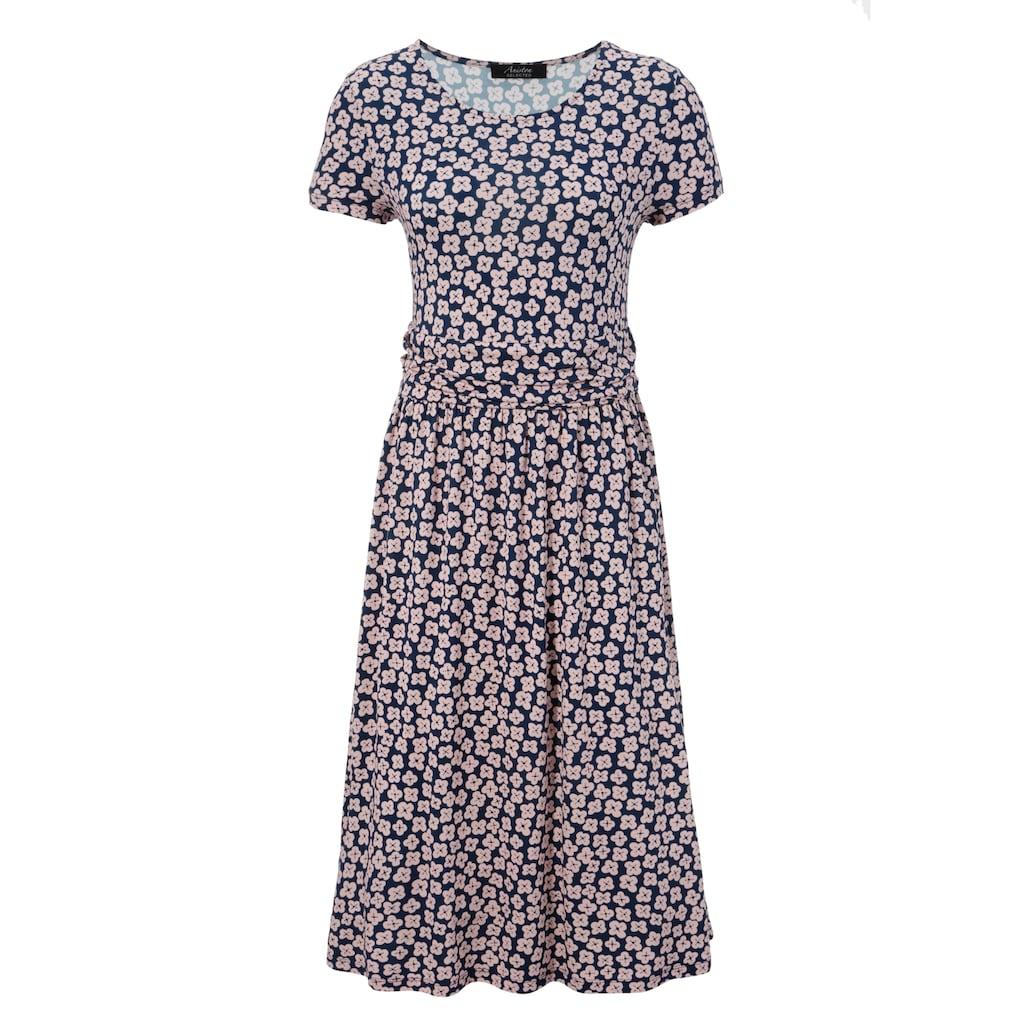 Aniston SELECTED Sommerkleid, mit breitem Bund in der Taille