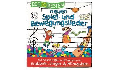 Musik - CD 30 Besten Neuen Spiel - Und Bewegungslieder / Sommerland,S.& Glueck,K., (1 CD) kaufen