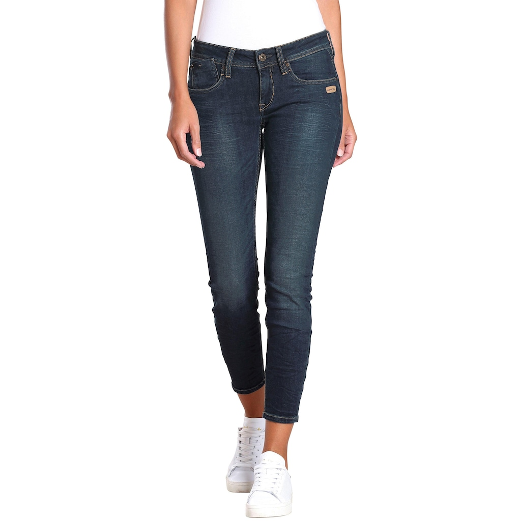 GANG Skinny-fit-Jeans »Faye«, im Flanking-Style