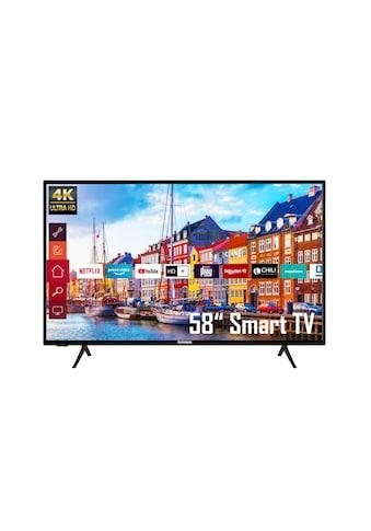 """Telefunken LED-Fernseher »XU58K700«, 146 cm/58 """", 4K Ultra HD, Smart-TV kaufen"""
