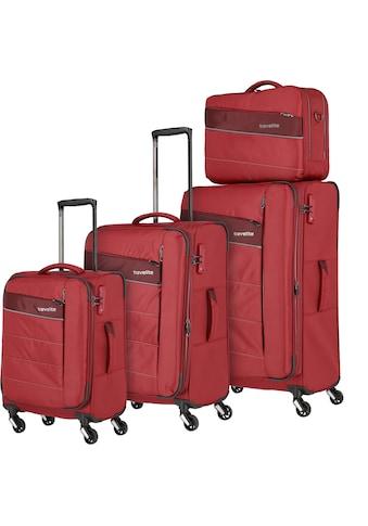 """travelite Trolleyset """"Kite, rot"""", 4 Rollen, (4tlg.) kaufen"""