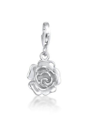 Nenalina Charm-Einhänger »Anhänger Rose Blume Floral Blüte 925 Silber« kaufen
