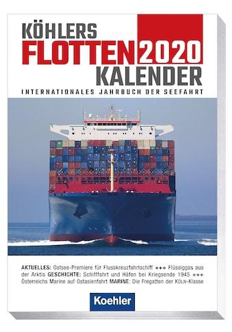 Buch »Köhlers Flottenkalender 2020 / Hans Jürgen Witthöft« kaufen