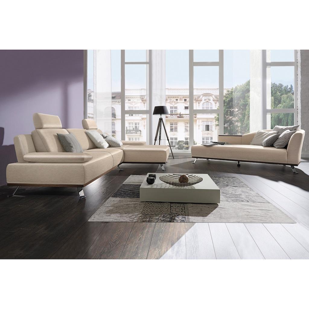 ADA premium Ecksofa »Tivoli«, Recamiere wahlweise links oder rechts