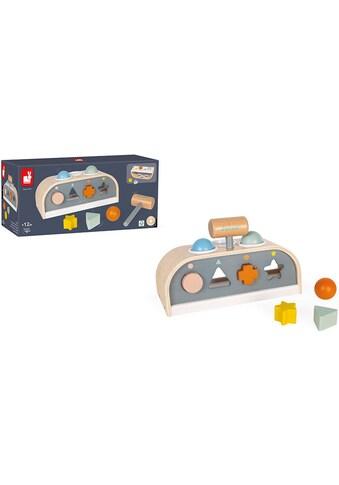 Janod Lernspielzeug »Sweet Cocoon -Schlag- & Sortierspiel «TapTap««, FSC®-Holz aus... kaufen