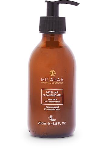 MICARAA NATURAL COSMETICS Gesichtsreinigungsgel »Mizellen Waschgel Anti Pickel«,... kaufen