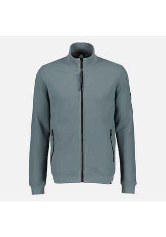 LERROS Sweatjacke, unifarben, mit Stehkragen und durchgehendem Zipper kaufen