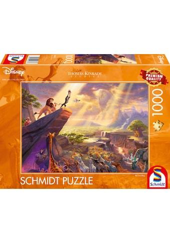 """Schmidt Spiele Puzzle """"Disney, König der Löwen"""" kaufen"""