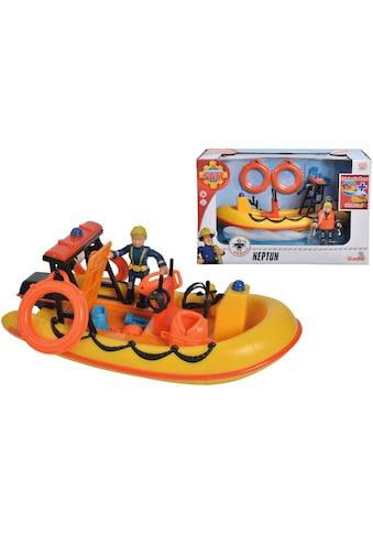 SIMBA Spielzeug-Boot »Feuerwehrmann Sam, Neptun mit Figur«, schwimmfähig kaufen