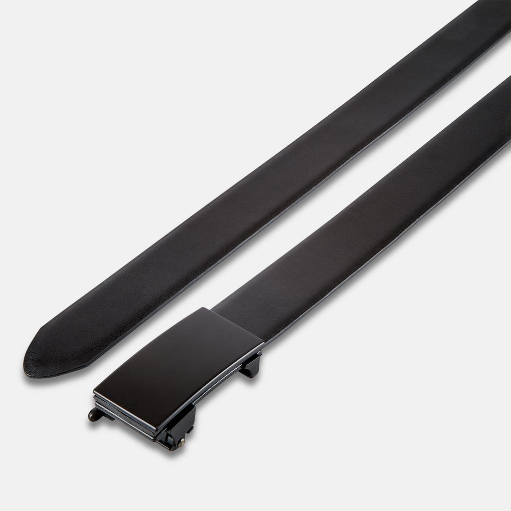 LERROS Koppelgürtel »PADDOCK«, Citybelt aus mattem Glattleder