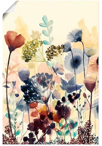 Artland Wandbild »Sonnengetrocknete Blüten I« kaufen