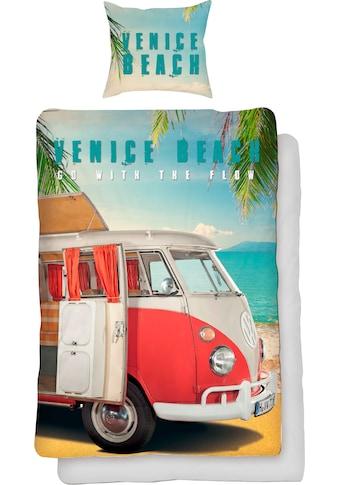 Volkswagen Wendebettwäsche »Venice Beach«, mit Auto kaufen
