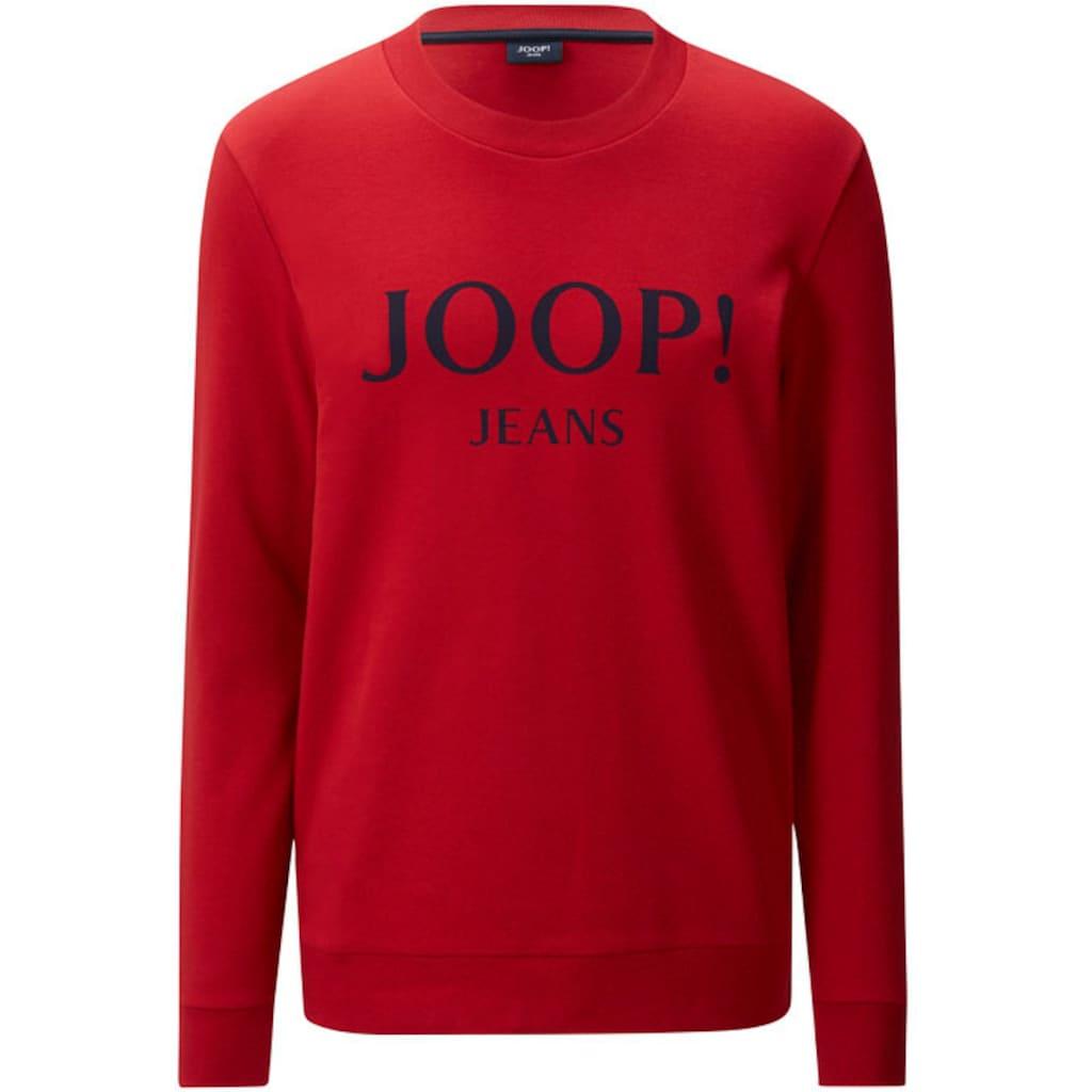 Joop Jeans Sweatshirt »MODERN FIT - Alfred«, mit plakativem Logodruck