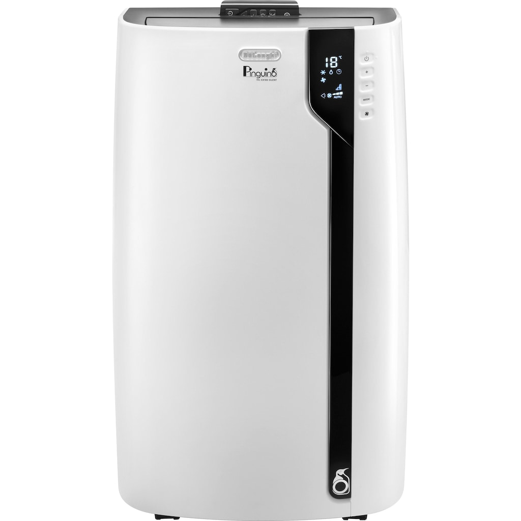 De'Longhi Klimagerät »PAC EX100 Silent«, Mobiles Klimagerät mit Entfeuchtungs-Funktion