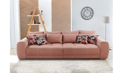 Jockenhöfer Gruppe Big-Sofa, inklusive loser Rücken- und Zierkissen, frei im Raum... kaufen