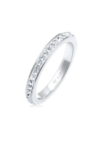 Elli Fingerring »Swarovski® Kristallen Memoire Ring 925 Silber« kaufen