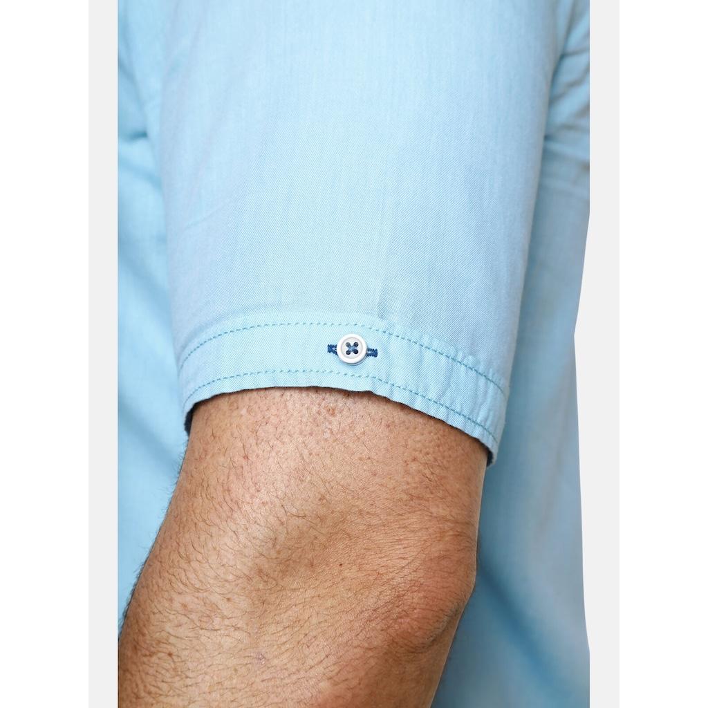 Charles Colby Kurzarmhemd »DUKE NATHAN«, aus leichter Baumwollware