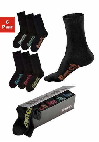 Bench. Socken (Box, 6 Paar) kaufen
