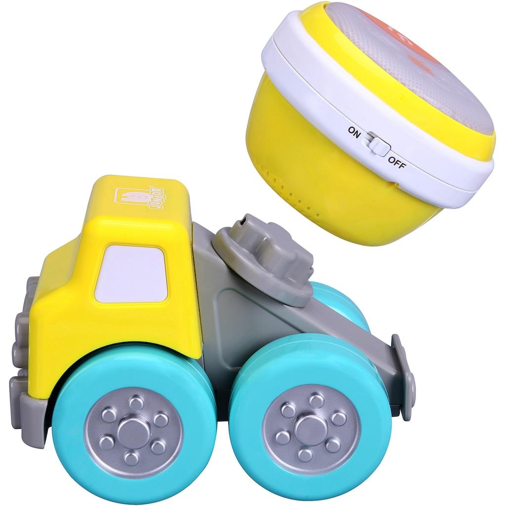 bbJunior Spielzeug-Betonmischer »Drive N Rock Zement Mixer mit Trommel«, mit Licht- und Soundeffekten