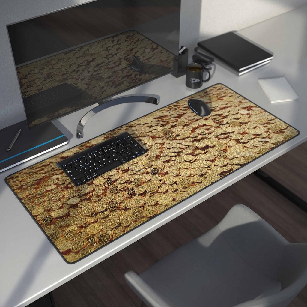 CSL Gaming Mauspad »Mousepad 900 x 400mm / Präzison & Geschwindigkeit«, Schreibtischunterlage