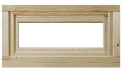 WOLFF FINNHAUS Fenster »A42 - 15K/40«, Kippfunktion, BxH: 92,5x45 cm kaufen