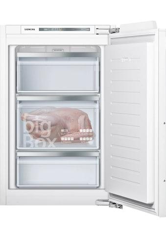 SIEMENS Einbaugefrierschrank »GI21VADE0«, iQ500, 87,4 cm hoch, 55,8 cm breit kaufen