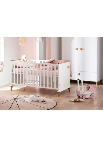 PAIDI Kinderbett »Lotte & Fynn«, Steiff by Paidi, inklusive 4-fach höhenverstellbarem... kaufen