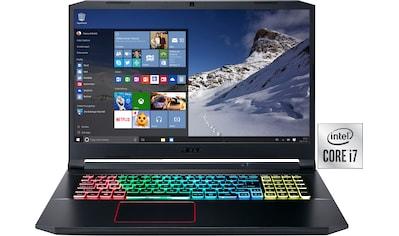 Acer Nitro 5 Gaming - Notebook (43,94 cm / 17,3 Zoll, Intel,Core i7,  -  GB HDD, 1000 GB SSD) kaufen