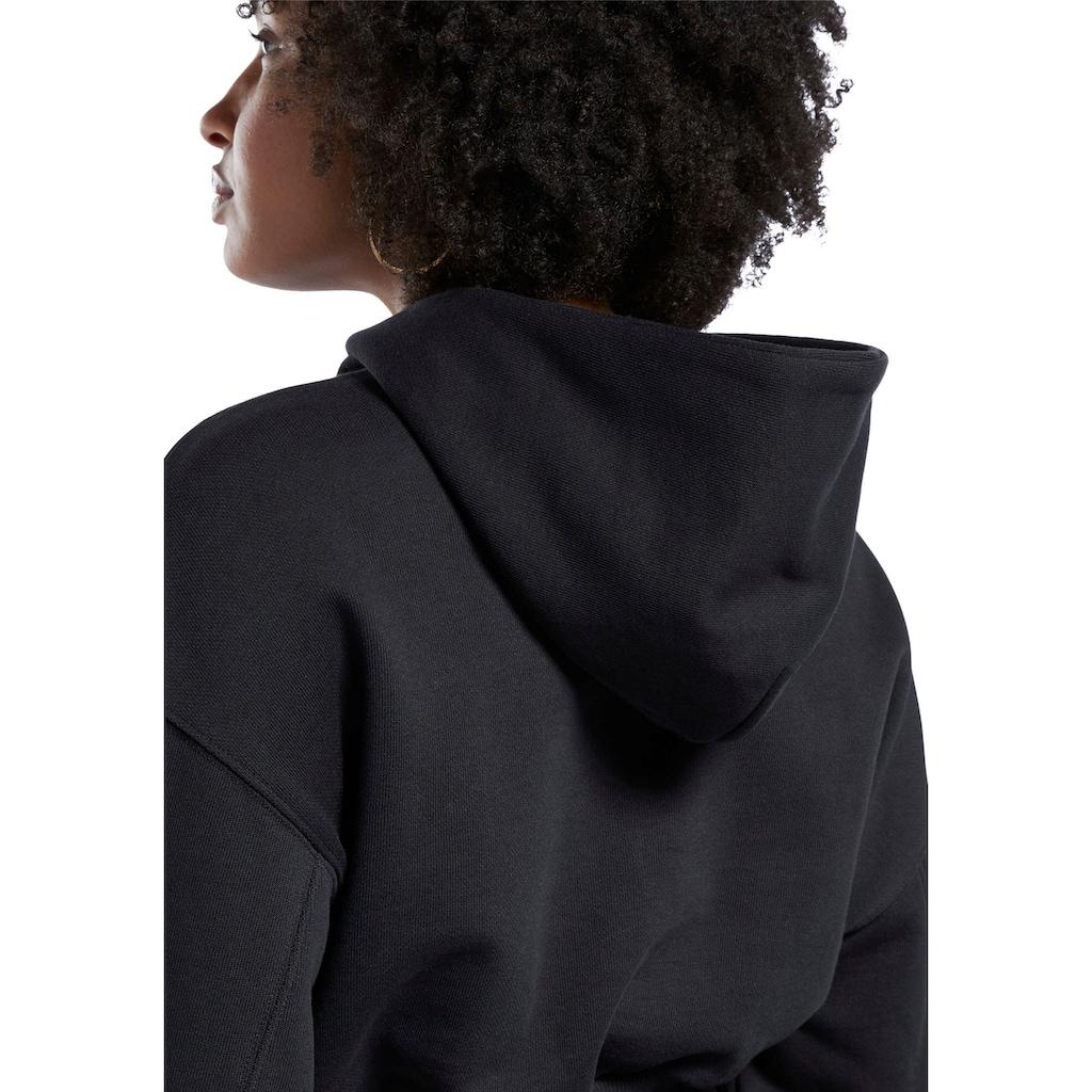 Reebok Classic Kapuzensweatshirt »CL PF CROPPED FT HOODY«