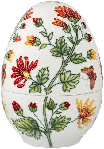 Goebel Osterei »Farbenfrohe Pflanzenwelt«, Ei-Dose aus Porzellan, Höhe ca. 18,5 cm kaufen