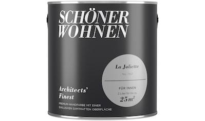 SCHÖNER WOHNEN-Kollektion Wand- und Deckenfarbe »Architects' Finest La Joliette«,... kaufen