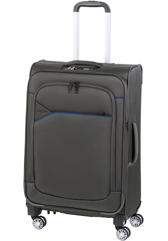 """Hardware Weichgepäck - Trolley """"SKYLINE 3000 M, ivy/dark blue"""", 4 Rollen kaufen"""