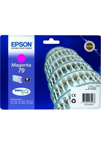 Epson Tintenpatrone »DURABrite Ultra Ink 79 Magenta«, (1 St.) kaufen