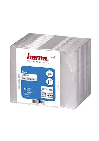 Hama CD-Slim-Box, 20er-Pack, Transparent, Vorratspack kaufen